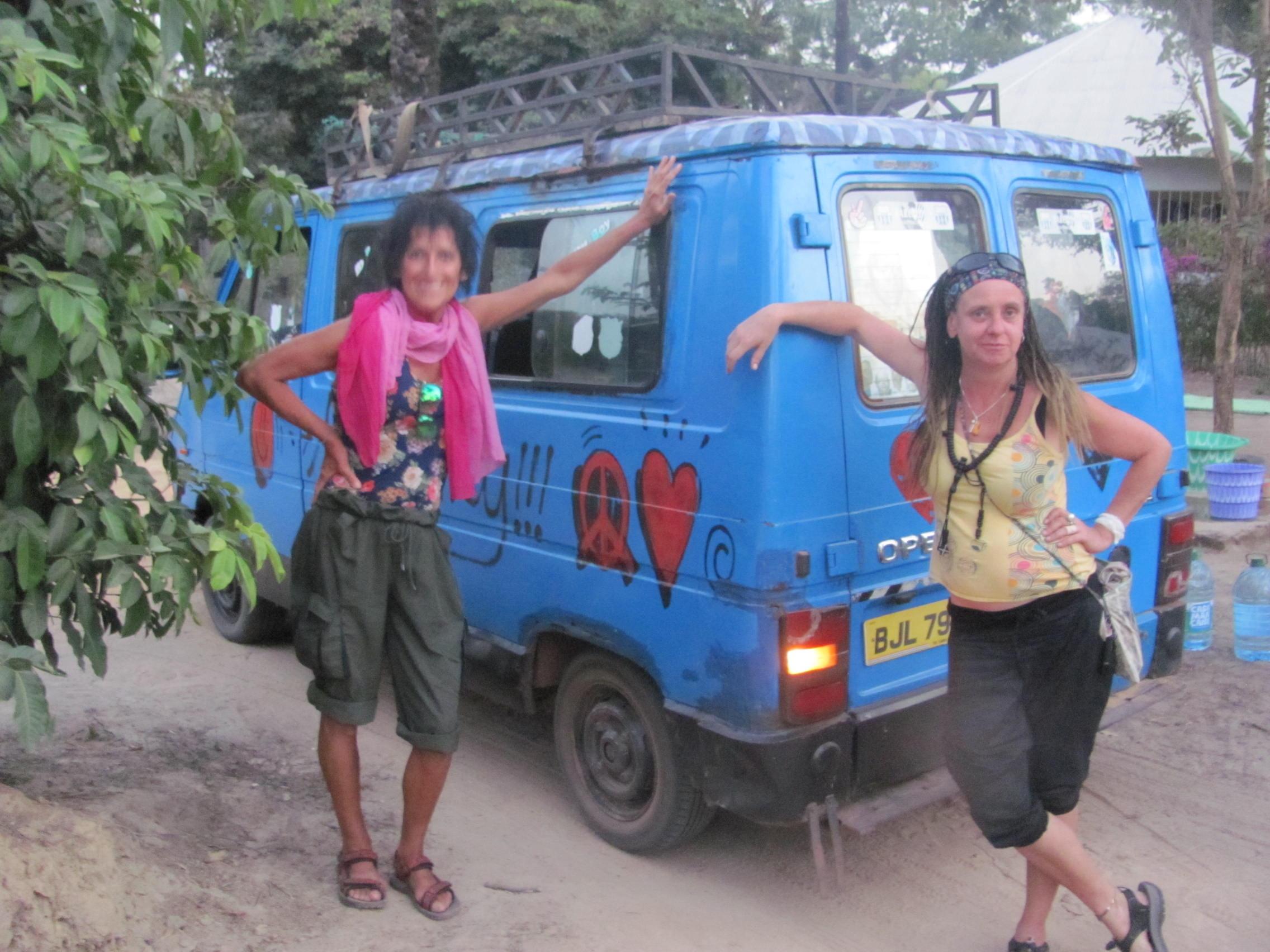 3. Bělokožci v Senegalu
